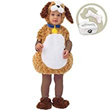 Spooktacular Creations Spooktacular CreationsBaby Puppy Costume (18-24 Months) Brown