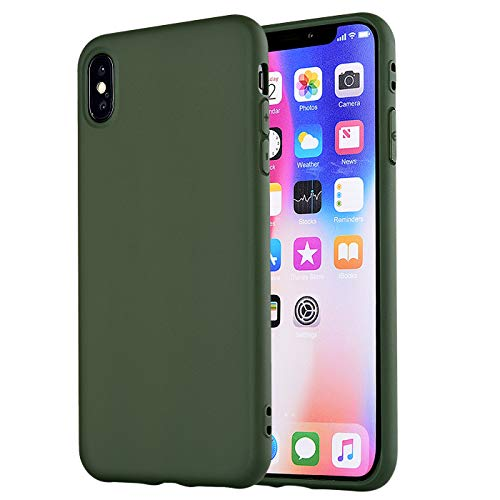 - iPhone Xs Max Case,iPhone Xs Plus Case, Manleno Slim Fit Full Matte Skin Case Soft Flexible TPU Silicone Cover Case For iPhone Xs Max 6.5