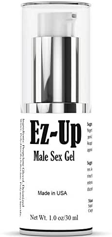 Ez-Up Gel for Men- Male Enhancement Gel to Last Longer, Lubricant Gel Spray