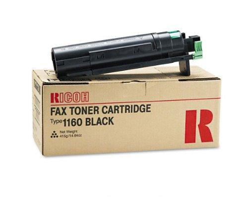(Lanier LF415E Laser Fax Machine Black OEM Toner Cartridge - 6,000 Pages)
