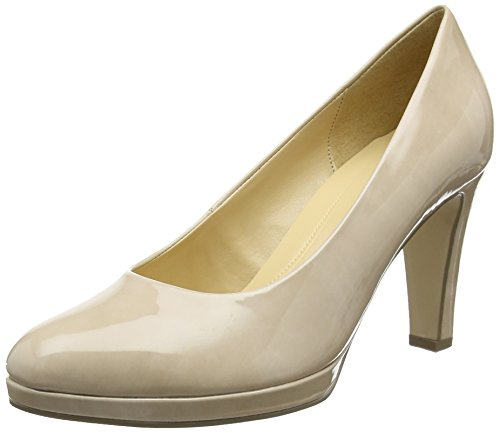 Sand Beige Damen Gabor Fashion Schwarz Pumps 72 q7gnBwz