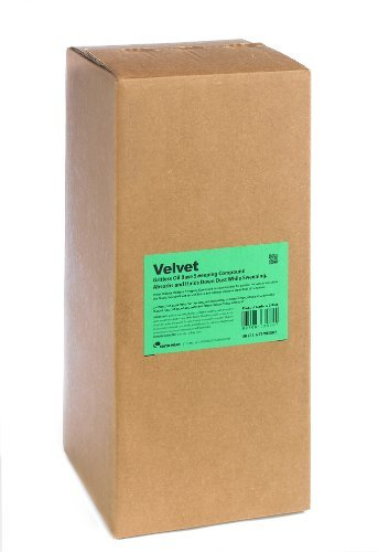 Grit Oil Base Sweeping Compound - Cotto-Waxo G-3 Velvet Gritless Oil Base Sweeping Compound, 50 lbs Box