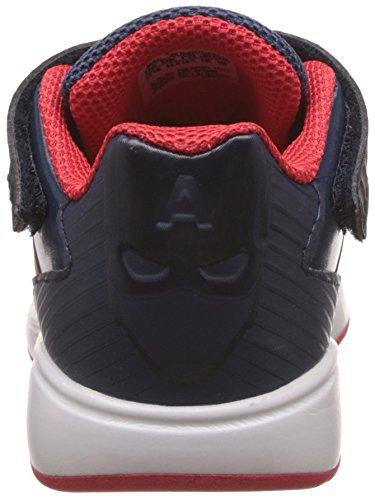 adidas Marvel Avengers C, Zapatillas de Gimnasia Unisex Bebé Azul / Rojo (Azumin / Rojint / Maosno)