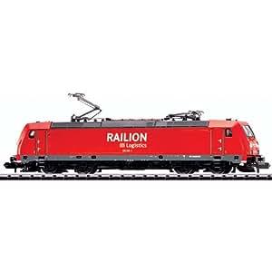 Trix T12193 - Märklin Minitrix - Clase locomotora eléctrica 185,2 - DB AG