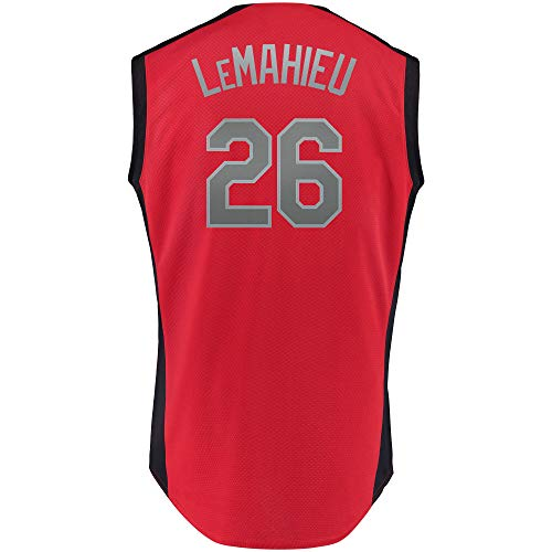 Men's/Women's/Youth_DJ_LeMahieu_Red_2019_All-Star_Game_Workout_Player_Jersey