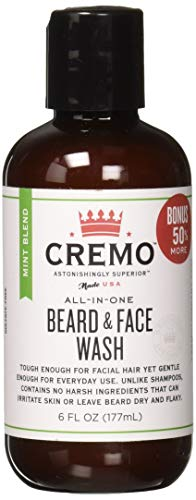 Cremo Beard and Face Wash - Mint Blend - 6oz