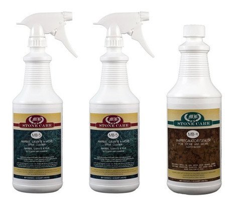 MB Stone Care Marble, Granite & More Stone Cleaner and Se...
