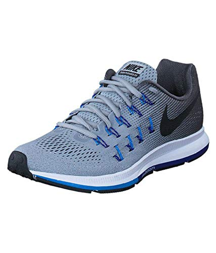 Descongelar, descongelar, descongelar heladas chorro dramático  Buy Air Zoom Men's Pegasus 33 Grey Mesh Running Shoes (8.5) at Amazon.in