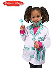 [US Deal] Save on Melissa & Doug Doctor Role Play Costume Dress-Up Set (7 pcs). Discount applied in price displayed.