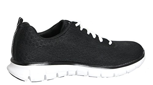 Women's Skechers Frequency White High Black dxqqwYPH