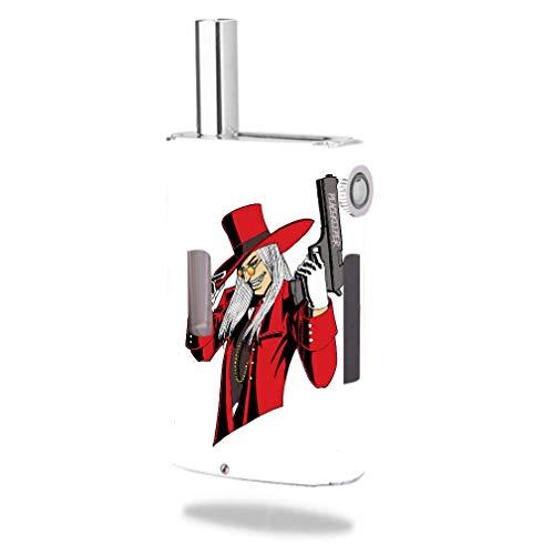 Decal Sticker Skin WRAP - Joyetech eGrip OLED Kit - Vampire Hunter Peacekeeper Artwork Picture]()