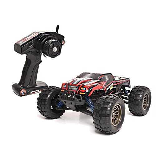 RC Toy,RC Cars Truck- [8821G 1/12 Scale High-speed Remote Control Car] Off-Road Radio Controlled Electric Vehicle, Birthday Gift For Friends,Kids Boys,Sons,Adults (Red)