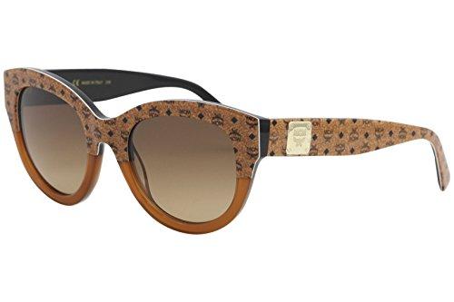 MCM Women's Cat Eye Viestos Sunglasses, Cognac/Brown, One - Mcm Sunglasses
