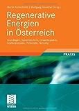 Regenerative Energien in Österreich: Grundlagen, Systemtechnik, Umweltaspekte, Kostenanalysen, Potenziale, Nutzung