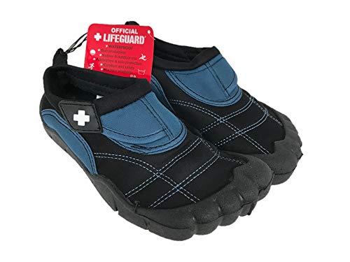 OFFICIAL LIFEGUARD Kids/Boys' Activity Shoes - Black and Blue (Size: L, 2/3)