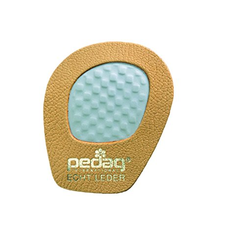 Pedag Girl Skid-Proof Forefoot Pads, Tan