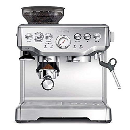 Breville RM-BES870XL Barista Express Espresso Machine , Silver (Renewed)