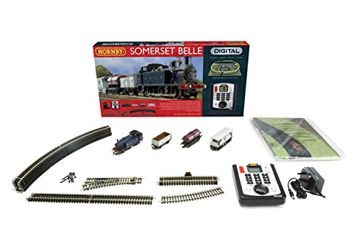 Hornby R1125 Somerset Belle 00 Gauge DCC Electric Train Set (Hornby Train Sets)