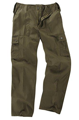 Basique Combat Pantalon Olive Cargo Poches 48 6 Vert 8nRx1q8