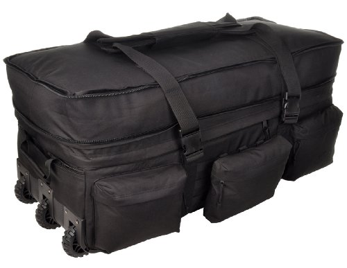 Sandpiper of California Rolling Loadout Luggage X-Large Bag (Black, 15.5x37x17-Inch) by Sandpiper of California