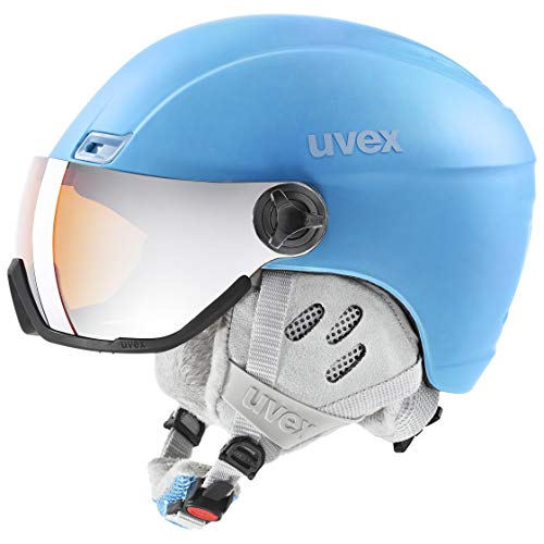 uvex Unisex – Erwachsene, hlmt 400 visor style Skihelm