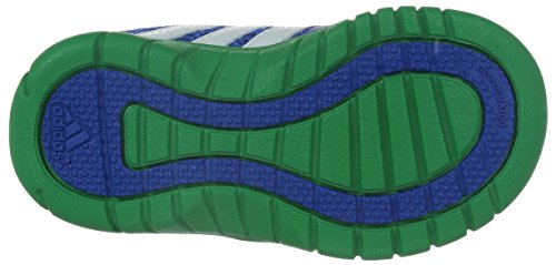 adidas Sta Fluid 3 CF I - Zapatillas para niños Azul / Blanco / Verde