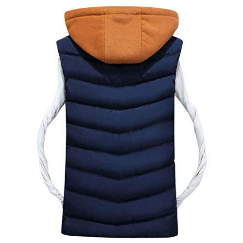 Fashion Clásico Vest Hooded Gray Men's Jacket Boy Ultralight Quilted Vest Down Down Jacket Coat Winter Shirt Sleeveless Warm Bv8vq7If