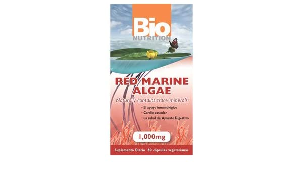 Amazon.com: Red Marine Algae 1000mg 60 caps: Health & Personal Care