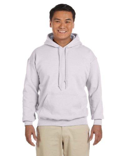 Gildan 18500 - Classic Fit Adult Hooded Sweatshirt Heavy Blend - First Quality - Ash Grey - Medium - Fleece Ansi Hooded Jacket