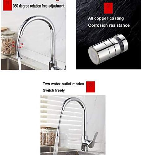 台所蛇口エアレーター、防爆及び耐圧、回転蛇口スプレーアタッチメント (サイズ : A)