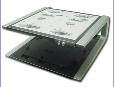 (Dell CN-0UC795-42940 Monitor Stand for Latitude & Inspiron Laptops -Works with Dell Latitude D-Series D400 D410 D420 D500 D505 D510 D600 D610 D620 D800 D810 D820 and Inspiron 300m, 600m, 8500 laptops )