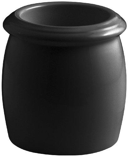 Kohler K-10517-7 Floor Container, Black Black ()