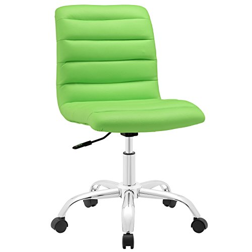 Modway Ripple Mid Back Office Chair, Green