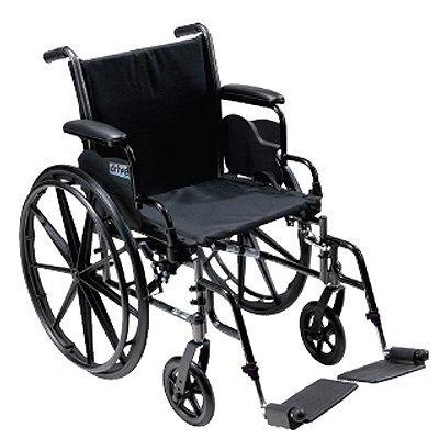 Cruiser III Lightweight, Dual Axle Wheelchair - Cruiser III Removable Height Adjustable Desk Arms, 18