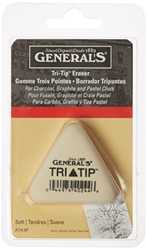 Generals Eraser - General Pencil GPT24BP Tri-Tip Eraser-
