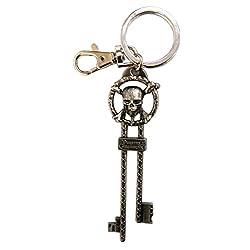 Disney Pirates of The Caribbean Master Key Pewter Key Ring