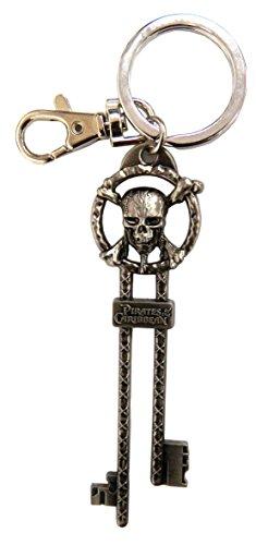 Disney Pirates of The Caribbean Master Key Pewter Key Ring (Pirates Of The Caribbean Game Xbox Cheats)