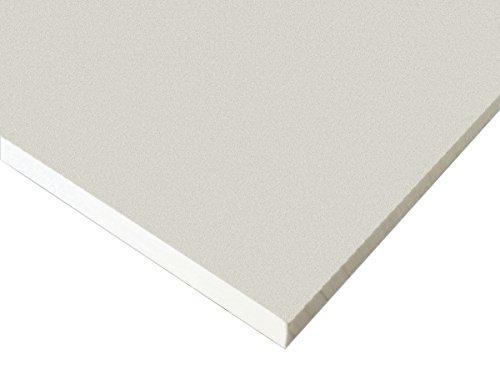 "White King Starboard HDPE Polyethylene Plastic Sheet 1//2/"" x 24/"" x 54/""  Textured"