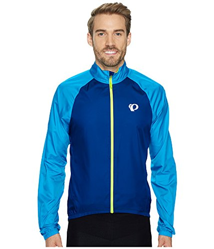 (パールイズミ)Pearl Izumi メンズジャケット ELITE Barrier Cycling Jacket [並行輸入品] M Blue Depths/Bel Air Blue B07694K9ZD