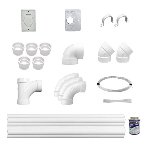 Central Vac Low Voltage Installation Kit