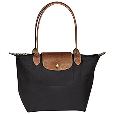 Longchanbag Le Pliage Large Shoulder Tote Bag Black