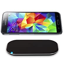 CHOE Qi Wireless Charger Kit for Galaxy S5(Including Wireless Charging Pad and Wireless Charging Receiver)
