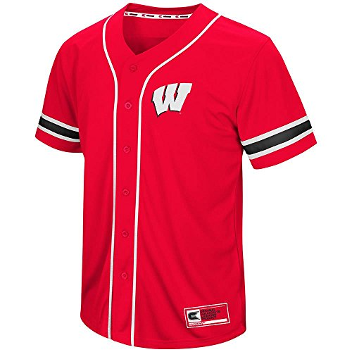 Mens Wisconsin Badgers Baseball Jersey - S