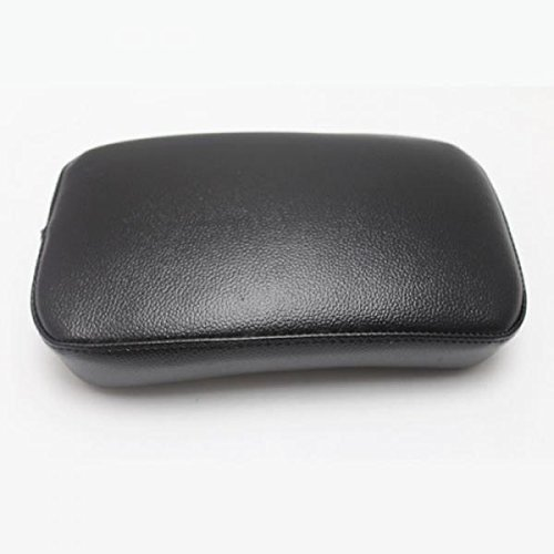 Tubayia Faux Leather Motorbike Pillion Seat Seat Seat Pad Seat Cushion with 6 Suction Cups