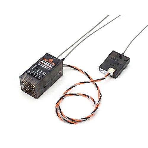 Spektrum AR9310 9-Channel DSMX Carbon Fuselage Receiver, SPMAR9310