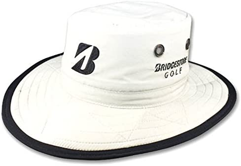 f096e48c730 Amazon.com  NEW Bridgestone Wide Brim Safari Boonie WHITE Fitted S M Hat Cap   Sports   Outdoors