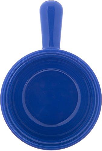 Carlisle 700614 Plastic Handled Soup Bowl, 8 oz., Ocean Blue (Pack of 24) by Carlisle (Image #2)
