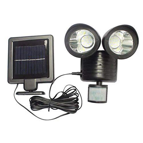 22 Led Solar Powered Rechargeable Pir Motion Sensor Security Light