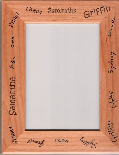 Cornwall Wooden Photo Frame 6 x 4 Landscape or Portrait Gift 440