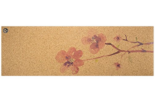 Blossom Nomad Cork Yoga Mat - Yoloha Artist Collection by Yoloha Yoga